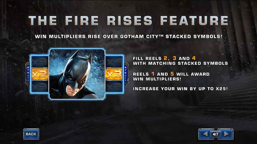 the dark knight rises slot machine detail image 3