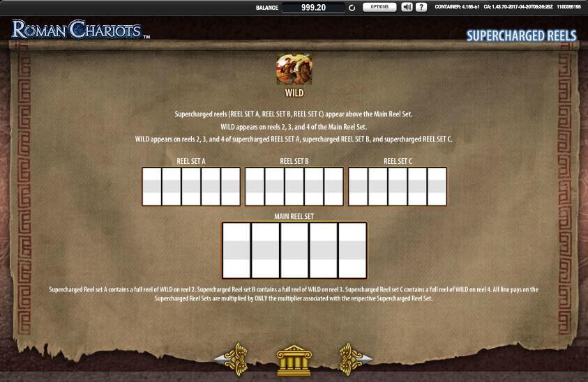 roman chariots slot machine detail image 2