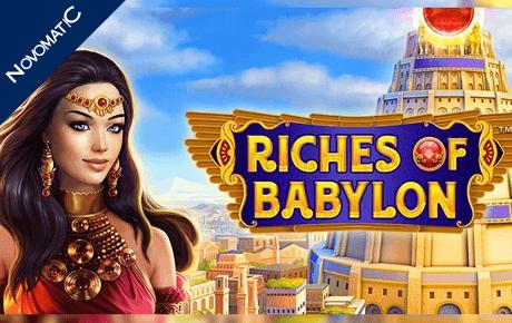 riches of babylon slot machine online