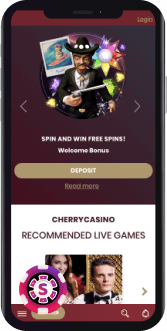 cherry casino mobile