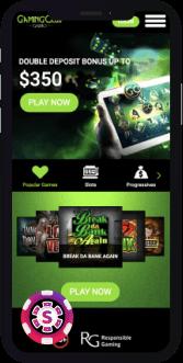 gaming club casino mobile