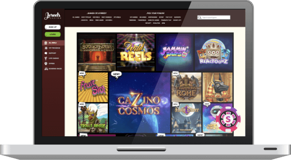 joreels casino games