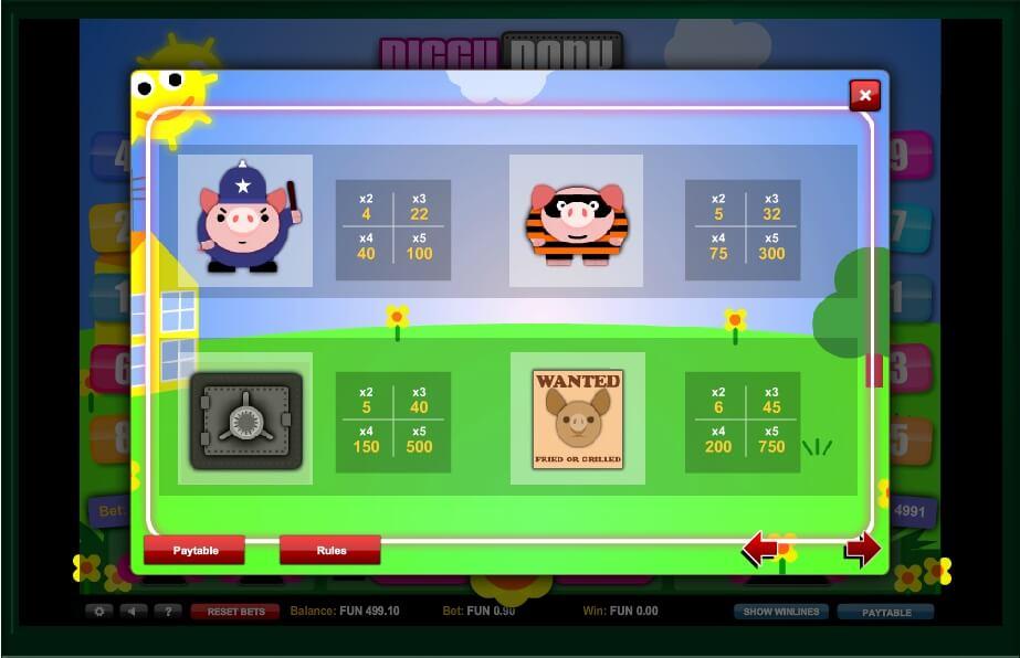 piggy bank slot slot machine detail image 2