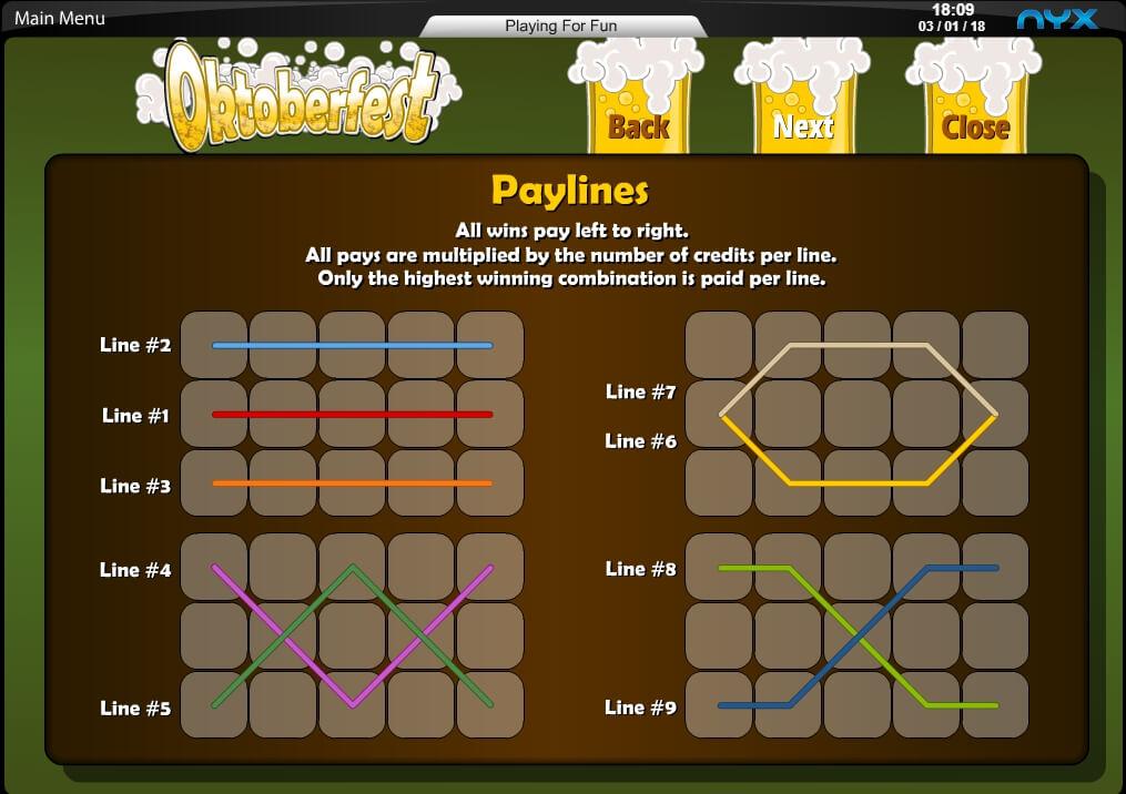 oktoberfest slot slot machine detail image 1