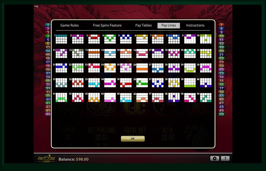 50 dragons slot slot machine detail image 0