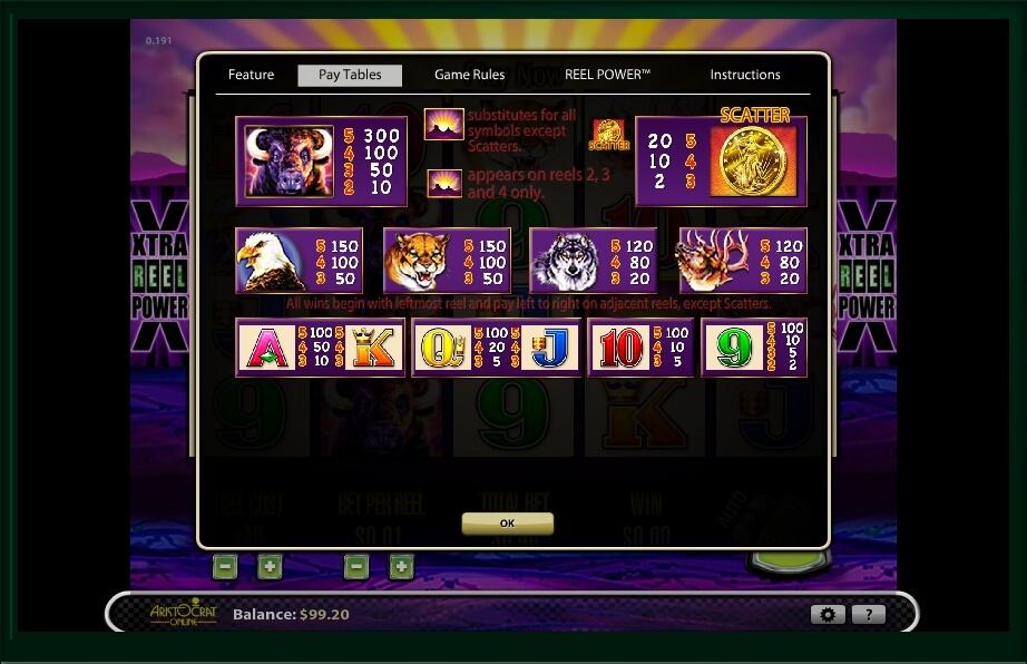 buffalo slot machine detail image 1