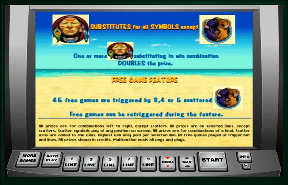 indian dreaming slot machine detail image 1