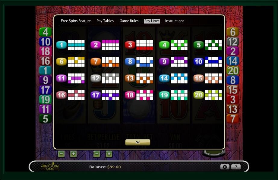 tiki torch slot machine detail image 2