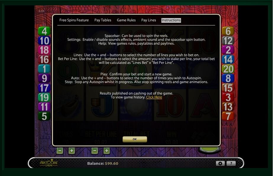 tiki torch slot machine detail image 1