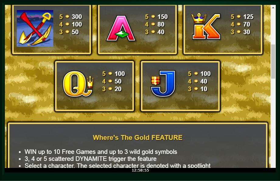 wheres the gold slot machine detail image 3