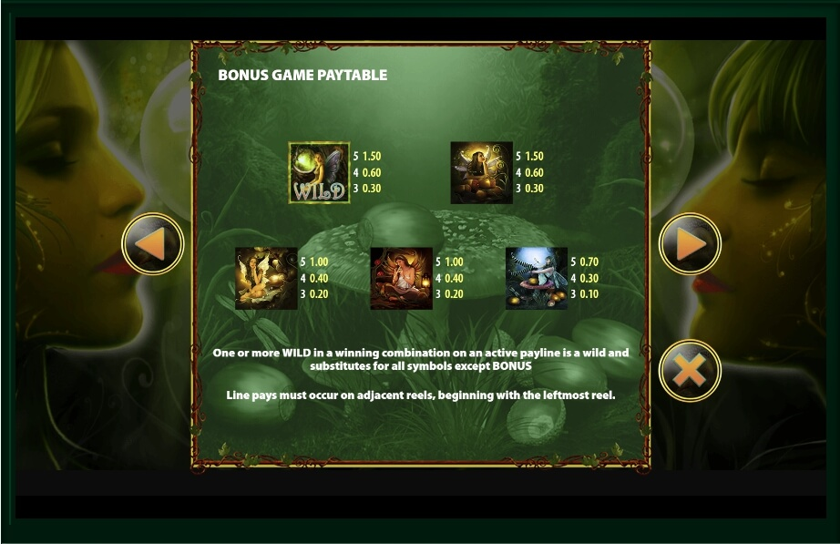 acorn pixie slot slot machine detail image 10