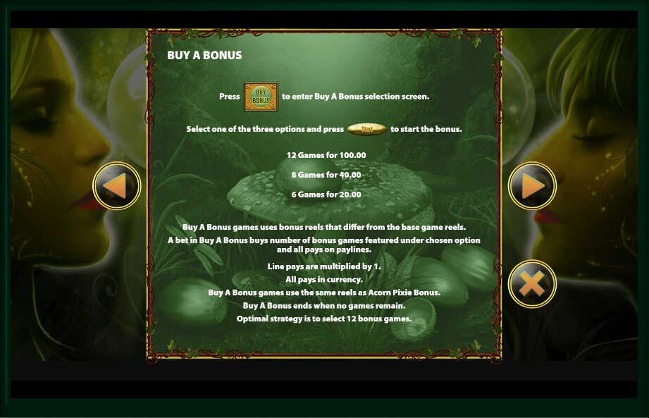 acorn pixie slot slot machine detail image 5