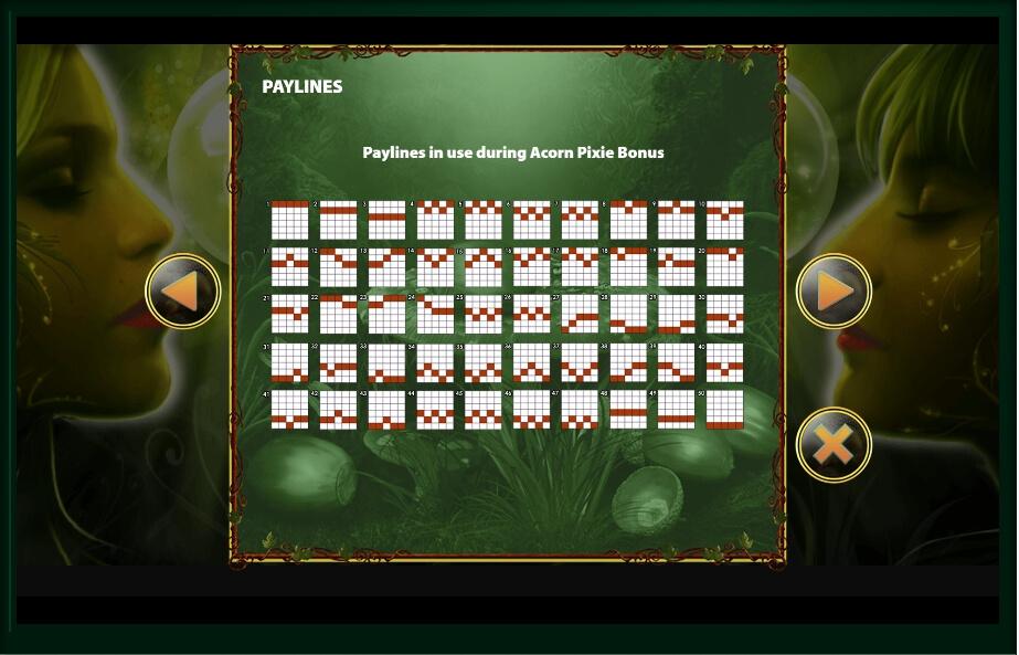 acorn pixie slot slot machine detail image 6