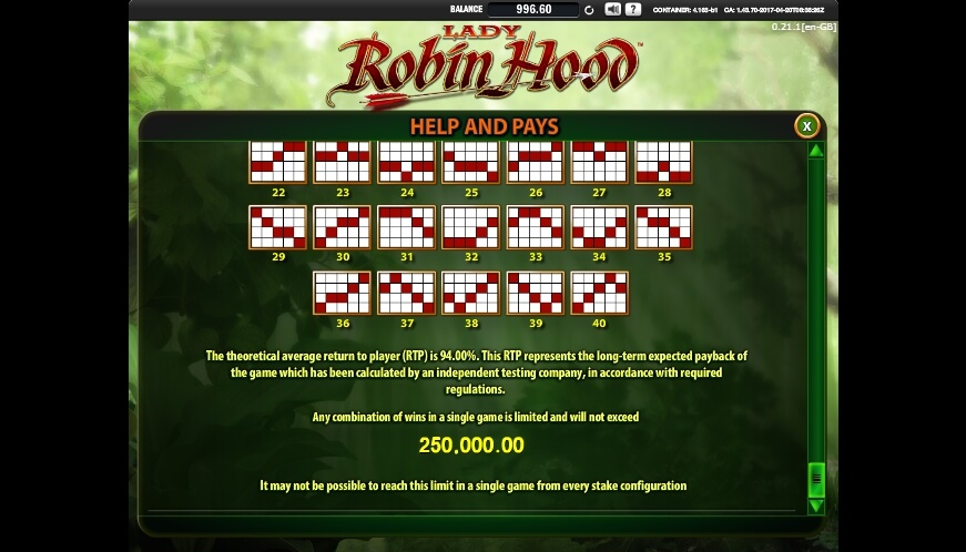lady robin hood slot slot machine detail image 0