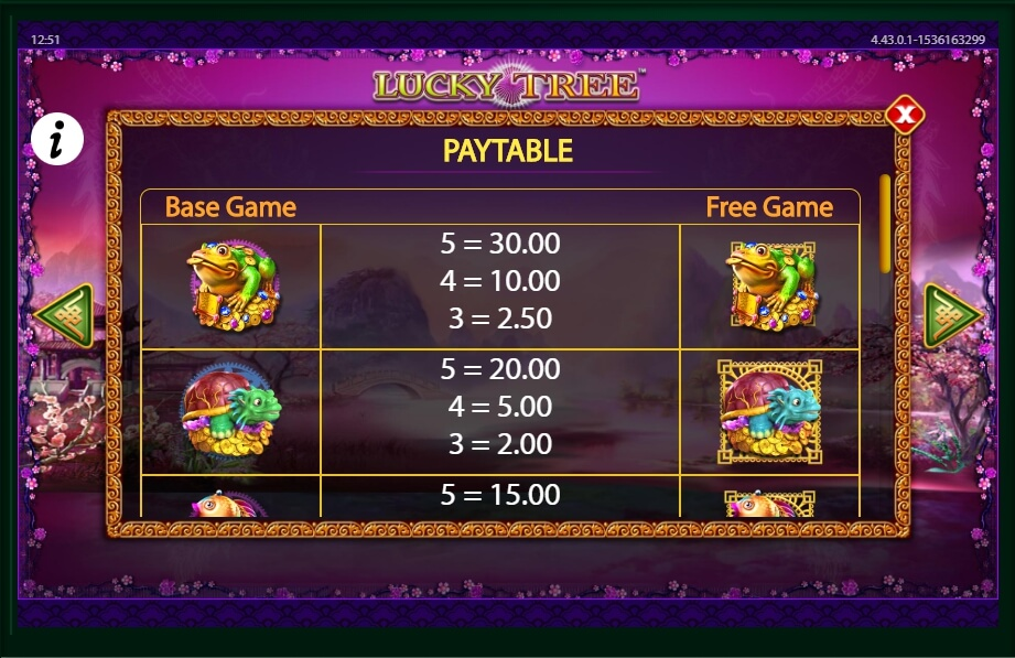 lucky tree slot machine detail image 0