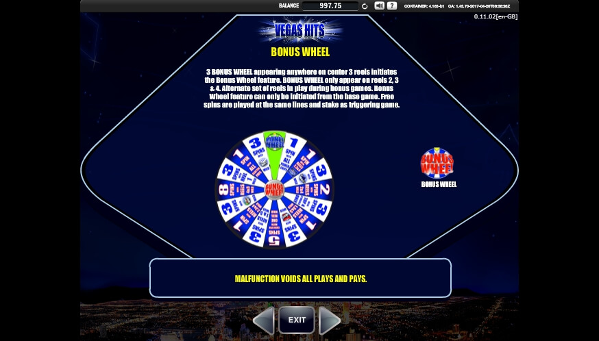 vegas hits slot slot machine detail image 7