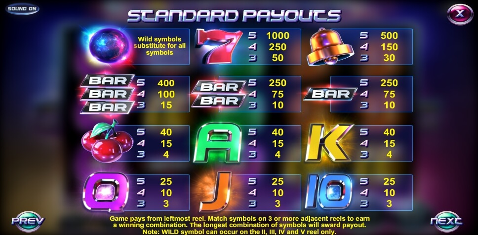 event horizon slot slot machine detail image 0