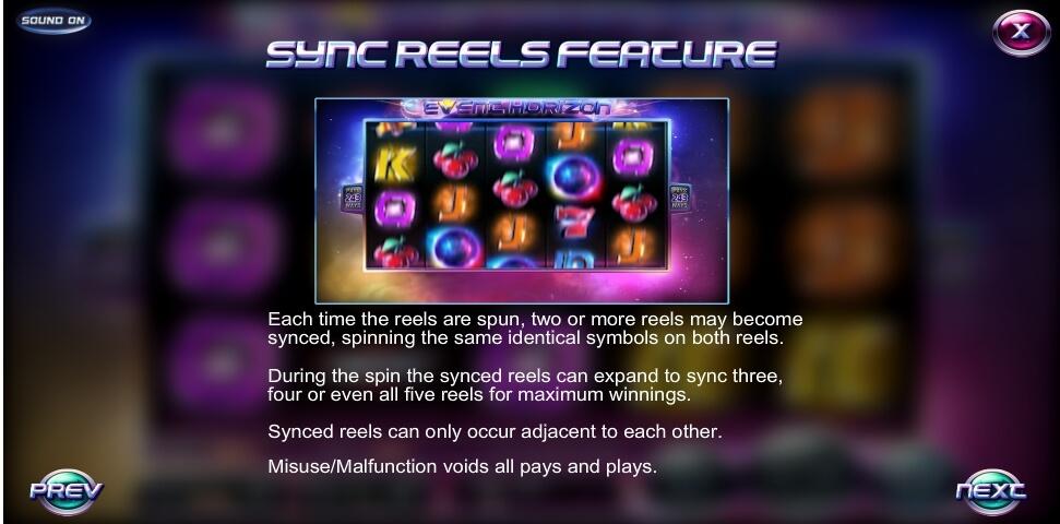 event horizon slot slot machine detail image 1