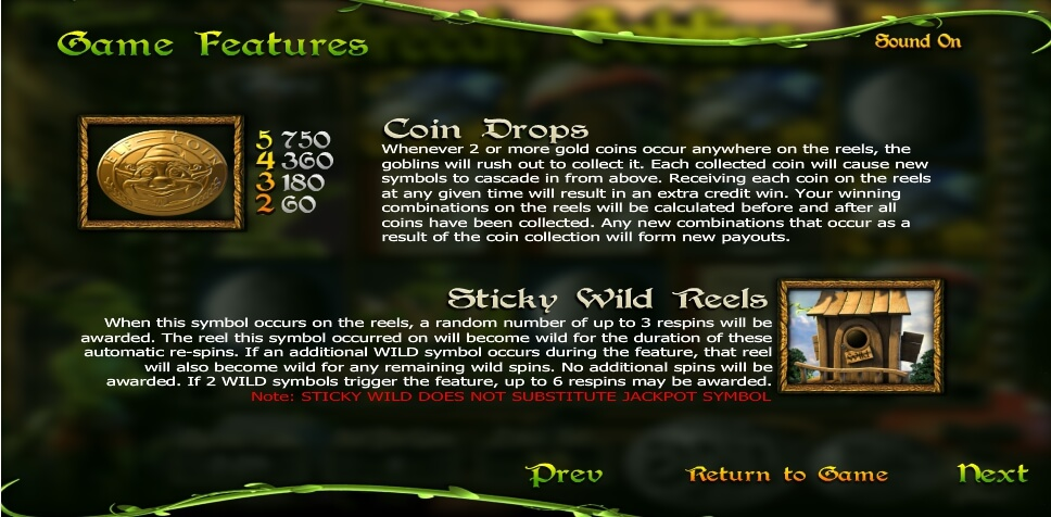 greedy goblins slot machine detail image 2