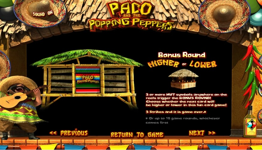 paco and the popping peppers slot slot machine detail image 3