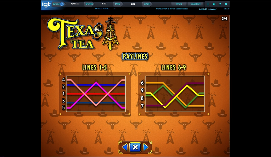 texas tea slot slot machine detail image 2