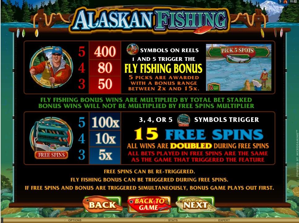 alaskan fishing slot slot machine detail image 0