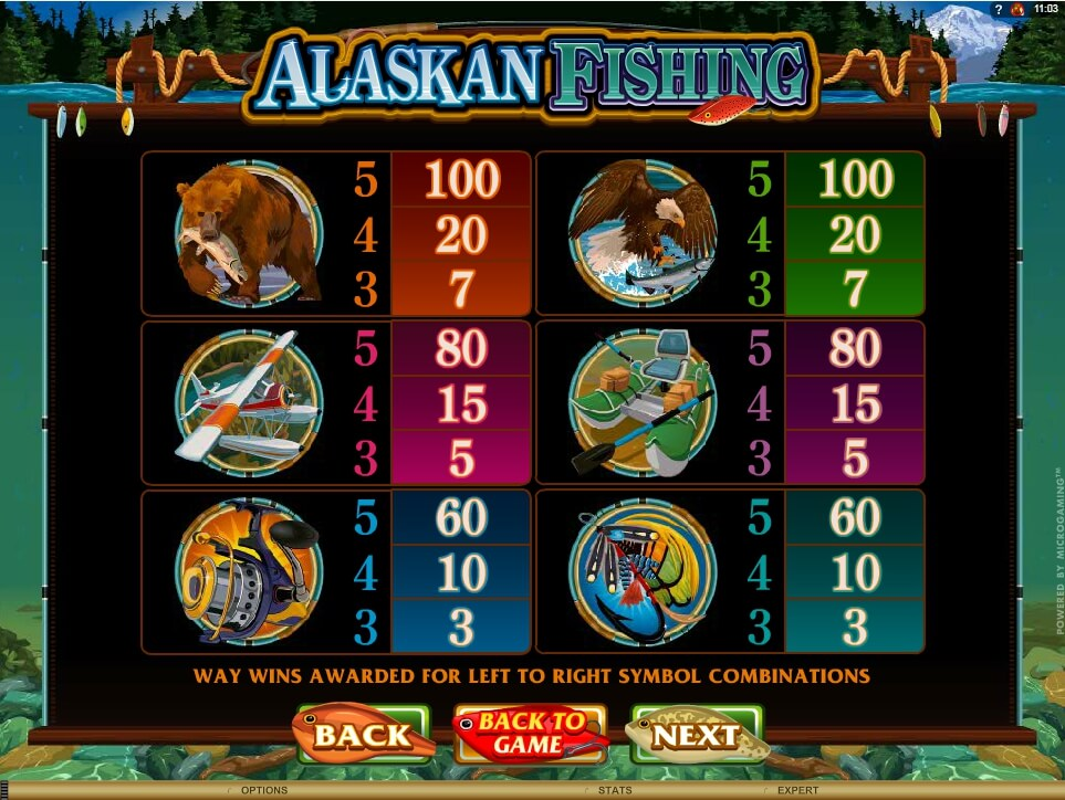 alaskan fishing slot slot machine detail image 2