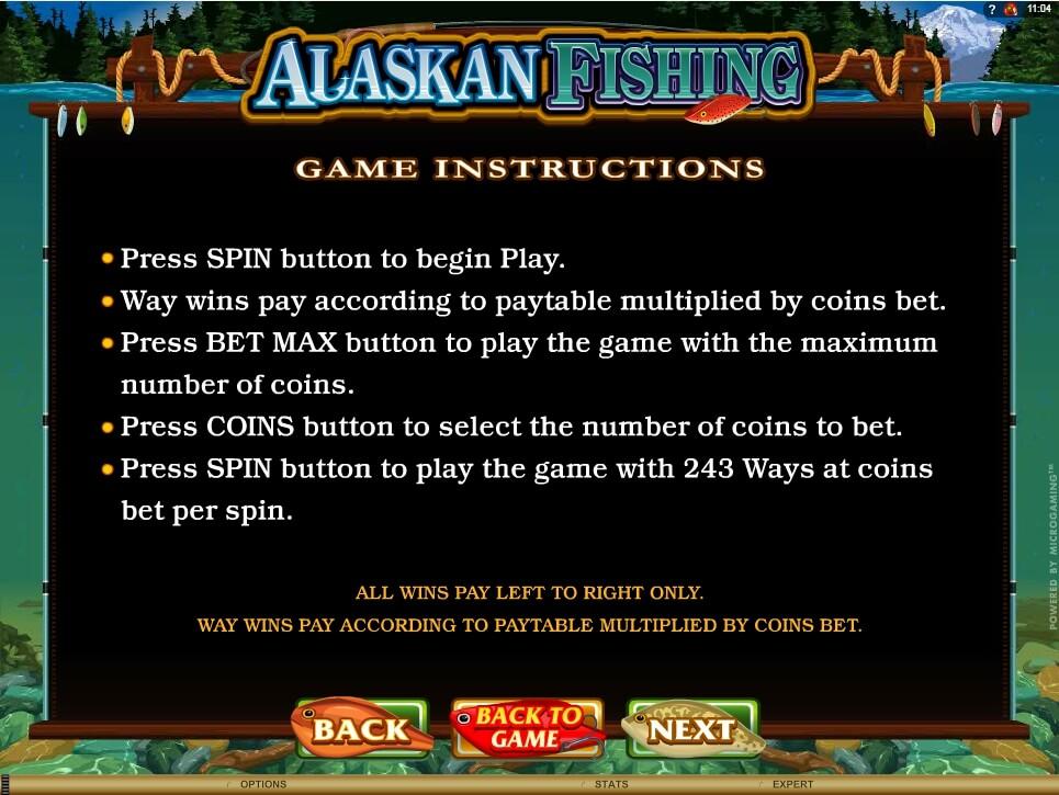alaskan fishing slot slot machine detail image 3
