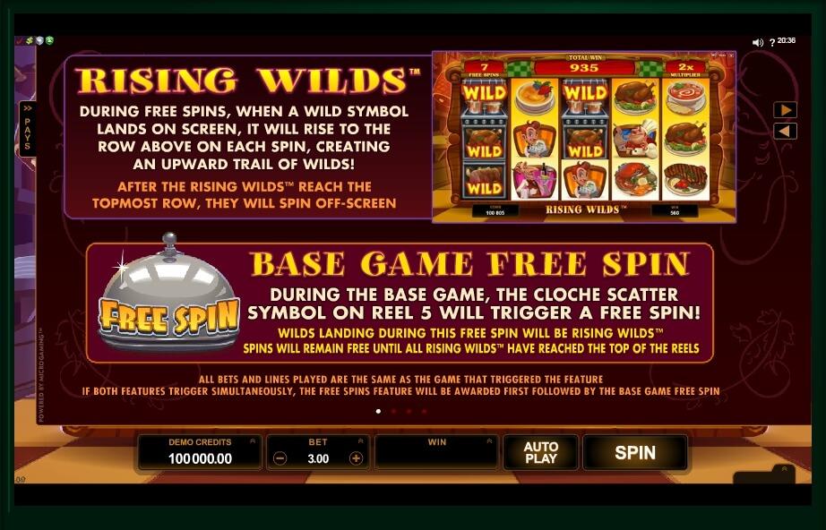 big chef slot slot machine detail image 0
