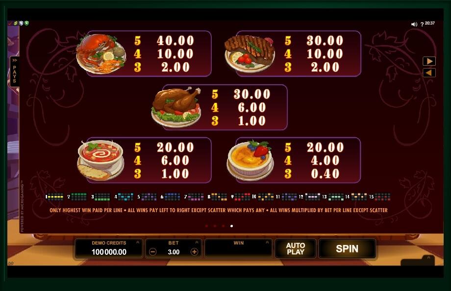 big chef slot slot machine detail image 3