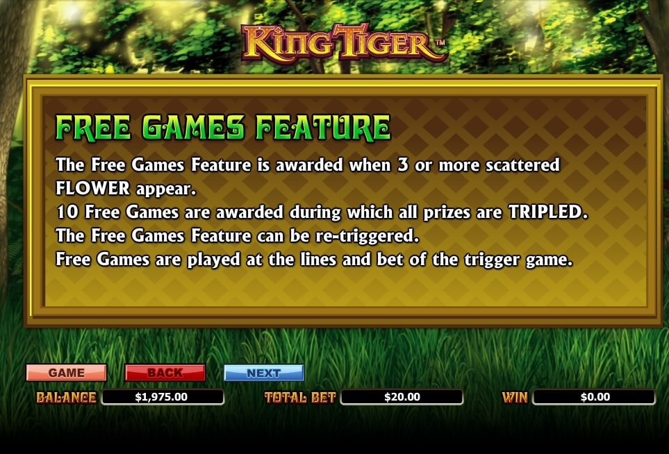 king tiger slot slot machine detail image 3