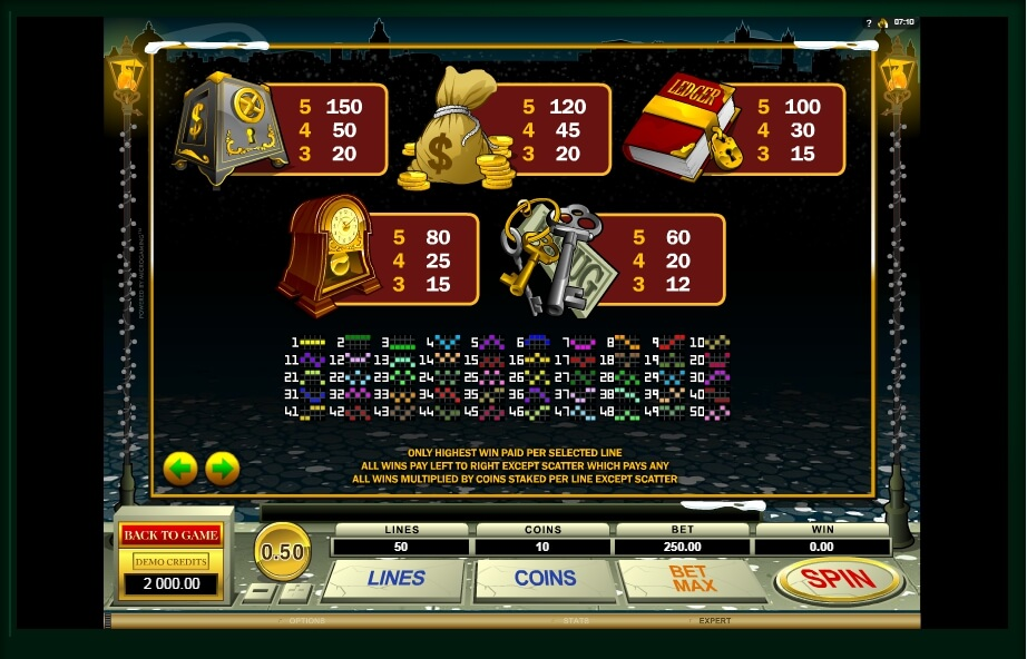scrooge slot slot machine detail image 3