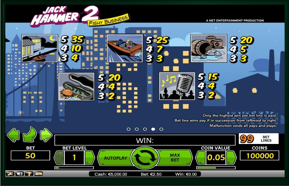 jack hammer 2 slot machine detail image 2