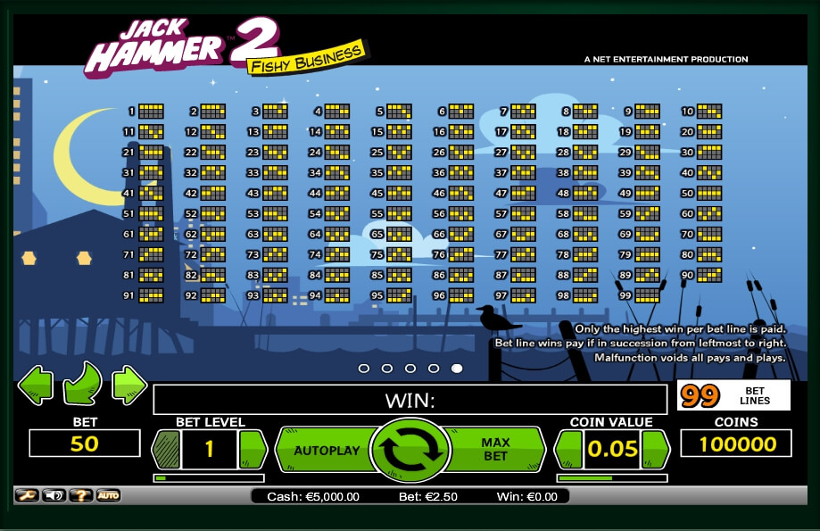 jack hammer 2 slot machine detail image 0