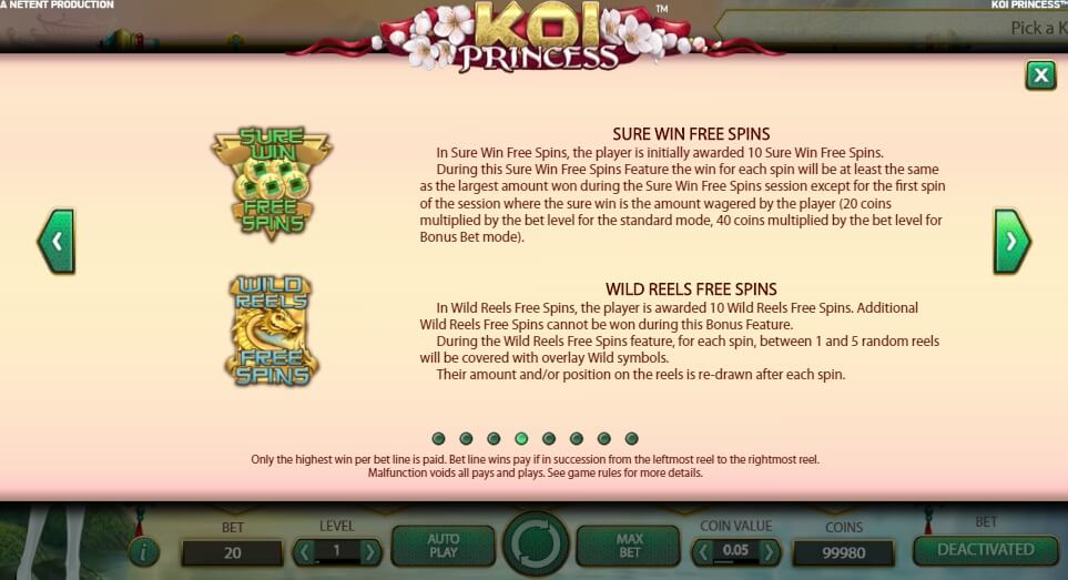 koi princess slot slot machine detail image 0