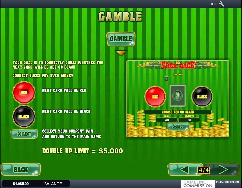 mr. cashback slot slot machine detail image 3