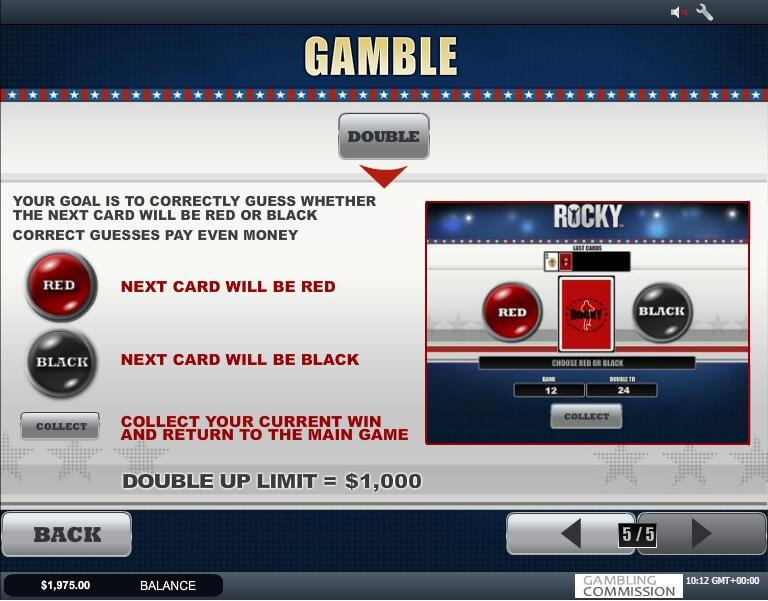 rocky slot slot machine detail image 4