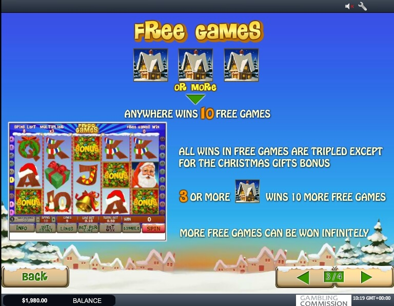 santa surprise slot slot machine detail image 2