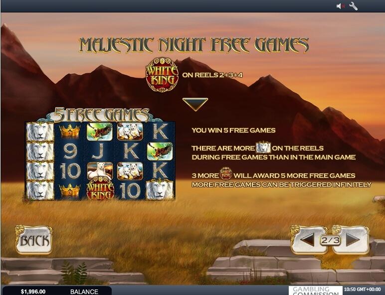 white king slot slot machine detail image 2