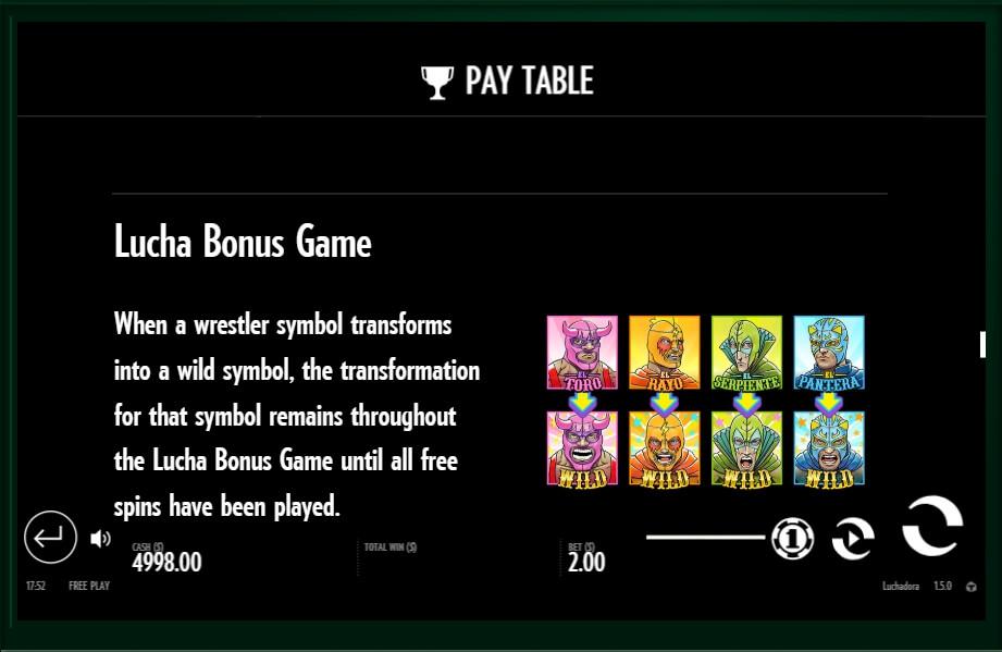 luchadora slot slot machine detail image 1
