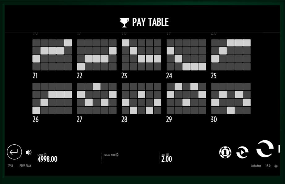 luchadora slot slot machine detail image 9