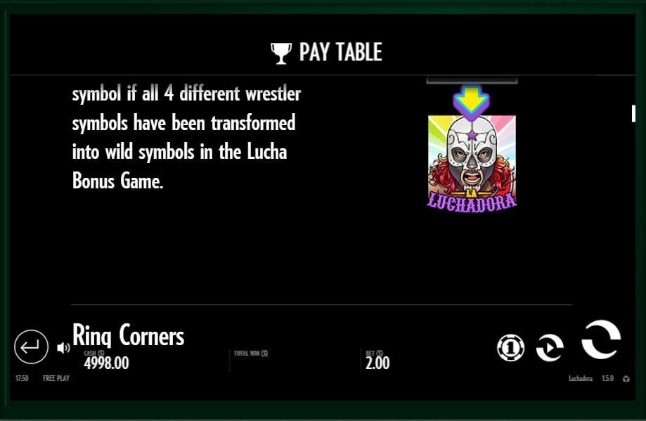 luchadora slot slot machine detail image 8