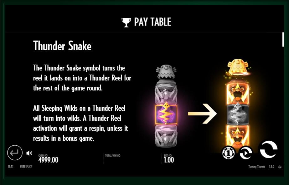 turning totems slot slot machine detail image 0