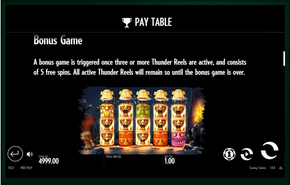turning totems slot slot machine detail image 2