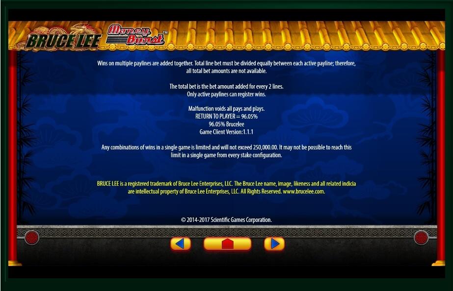 bruce lee slot slot machine detail image 5