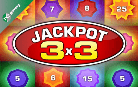 jackpot 3×3 slot machine online