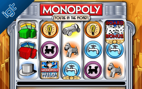 monopoly youre in the money slot machine online